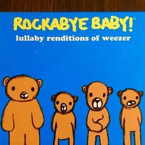 Set of Rockabye Baby! CDS